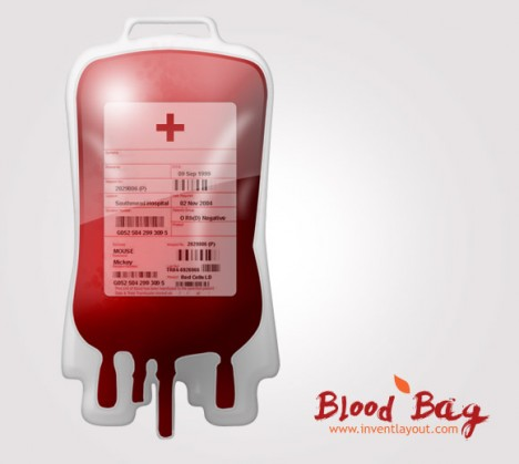 Plantilla de Sangre PSD