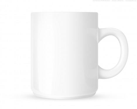 Plantilla de taza de café P