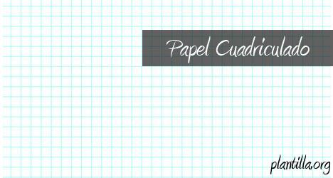 Plantilla de papel cuadriculado | Plantilla