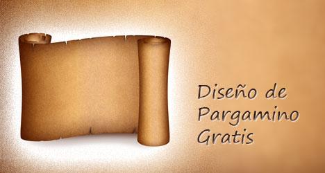 Plantilla de pergaminos gratis | Plantilla