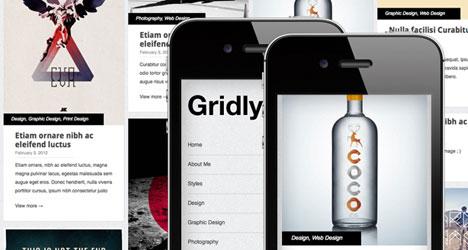 Gridly: Plantilla WordPress Responsive Gratis