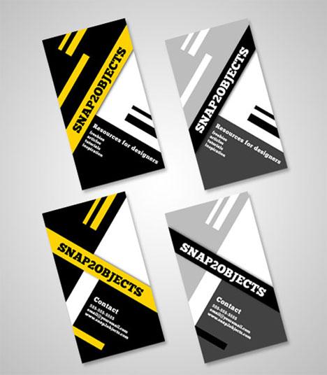 diseño de tarjetas de negocios
